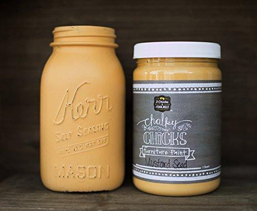 chalk-finish-paint-furniture-cabinets-paint-32-oz-mustard-seed