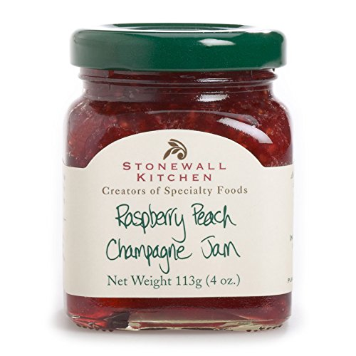 Stonewall Kitchen Raspberry Peach Champagne Jam, 3.75 oz.