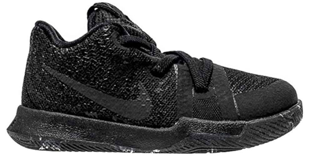 best cheap 638b0 155a5 Nike Kyrie 3 Marble Toddler Boys Shoe Black/Black/Black (8C)
