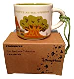 Disney Parks Starbucks You Are Here Animal Kingdom Mug Christmas Tree Ornament