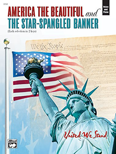 America the Beautiful / Star-Spangled Banner: (America Beautiful Piano Sheet Music)