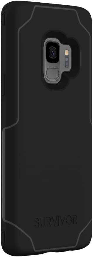 Griffin Samsung Galaxy S9 Case Clear Drop Protected Slim Cover Qi Charge Compatible Survivor Strong