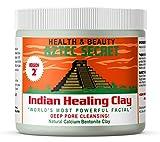 Beauty : Aztec Secret - Indian Healing Clay - 1 lb. | Deep Pore Cleansing Facial & Body Mask | The Original 100% Natural Calcium Bentonite Clay - New! Version 2