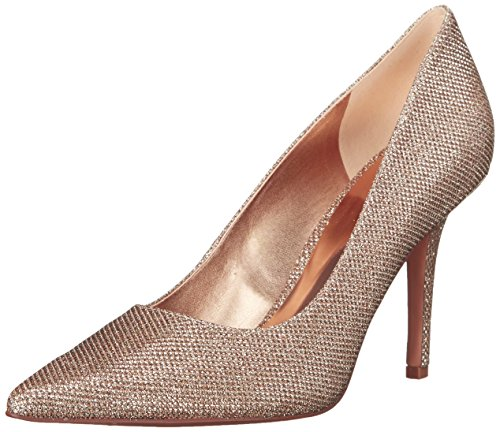 Nine West Womens Jackpot Fabric Dress Pump Light Pink 10.5 M US