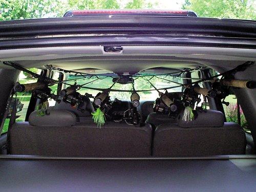 ロッドセイバー 車用ロッドキャリアー 7本用 RODSAVERの商品画像