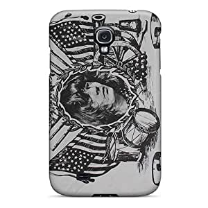Durable Hard Cell-phone Case For Samsung Galaxy S4 With Provide Private Custom Stylish Grateful Dead Pictures IanJoeyPatricia
