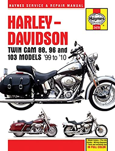 harley davidson twin cam 88 96 and 103 models 99 to 10 haynes rh amazon com Chilton Repair Manuals PDF Haynes Repair Manual Online View