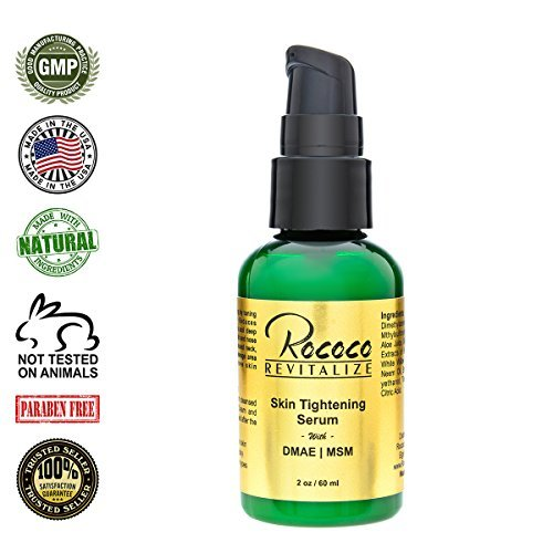 Skin Tightening Dmae Serum - 60ml 2oz by Rococo ()