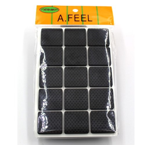 Afeel (1.1inch) Anti Slip Rubber Pads Square 90Piece Furniture Floor, Chairs  Floor