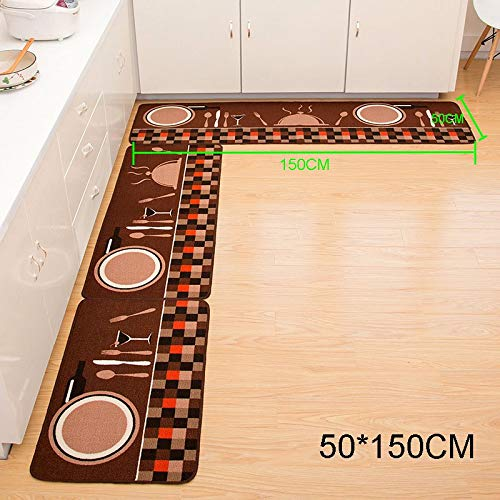 - 50x150cm Tb Sale - Non Slip Door Floor Mat Rectangle Soft Carpet Absorbent Doormat 50x80cm 50x120cm 50x150cm Tb - Collalily Carpet Skull In Rug Brown Carpet Soft Carpet Sale Carpet Modern Mat