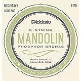 D'Addario EJ75 Phosphor Bronze Mandolin Strings, Medium/Heavy, 11.5-41