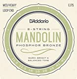 D\'Addario EJ75 Phosphor Bronze Mandolin Strings, Medium/Heavy, 11.5-41