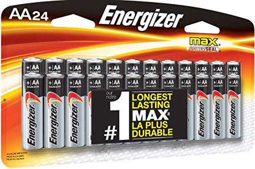 EnergizerMax Premium AA Batteries, Alkaline Double A Battery, 24 Count