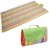 RoryTory Multi-Family Oversized Various Color Waterproof Picnic Blanket Mat