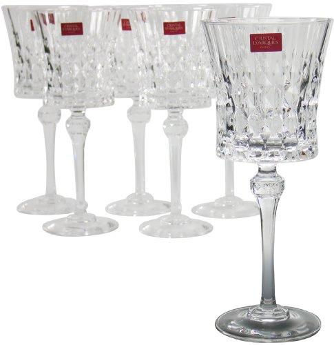 Cristal d'Arques Lady Diamond Goblets - Set of 6