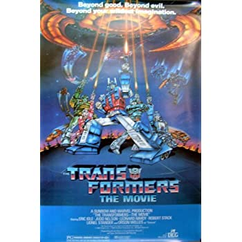 amazoncom transformers 27x40 1986 animated movie poster