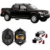 Fits Ford Explorer Sport Trac 2001-2010 Rear Door Factory Replacement Harmony HA-R68 Speakers