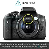 58MM 0.43x Altura Photo Professional HD Wide Angle Lens w/ Macro Portion for Canon EOS Rebel (T6s T6i T6 T5i T5 T4i T3i T3 SL1 1100D 700D 650D 600D 550D 300D 100D 60D 7D 5D 70D)