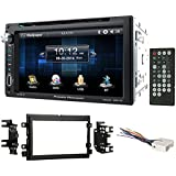 6.5 DVD/CD Player Receiver Monitor w/Bluetooth For 2004-2006 Ford F-150