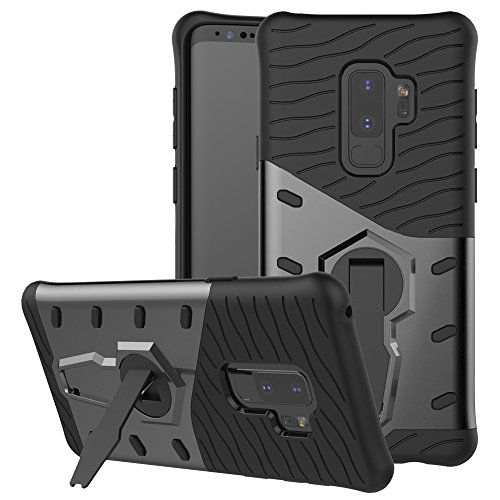 Samsung Galaxy S9 Plus Case SunRemex Durable armor with Full Body Protective and Resilient Shock Absorption and 360 Degree Rotating Kickstand Design for Samsung Galaxy S9 Plus(2018)