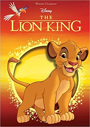 Buy Disney The Lion King Disney Die Cut Classics Book