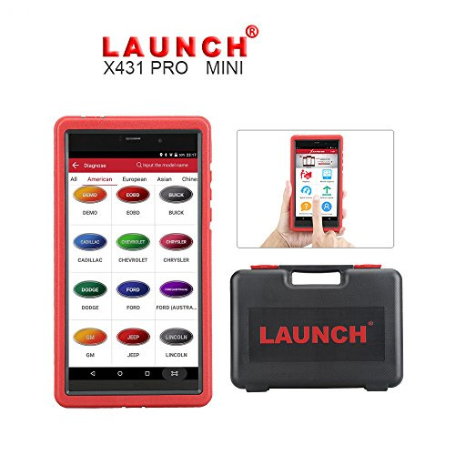 ICARSCANNER Launch X431 Pro Mini Auto Scanner Global Version Professional Universal Diagnostic Tool Update Online Free X-431 PRO MINI Support WiFi/Bluetooth Full Systems