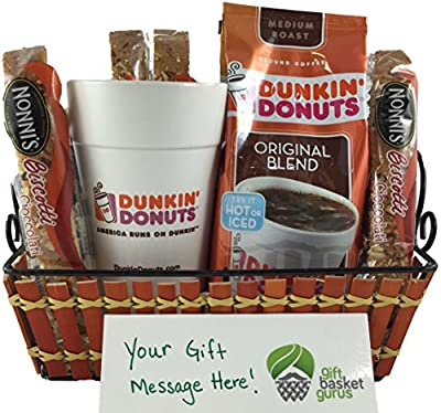 Dunkin' Donuts Original Coffee Gift Basket