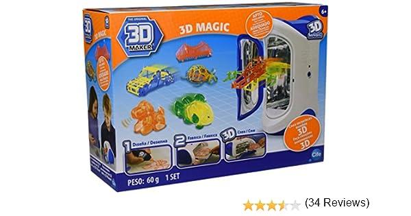 CIFE Irwin RX LTD 40104 - Impresora mágica 3D, juego creativo: Amazon.es: Juguetes y juegos