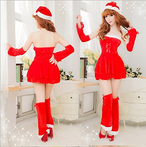 WeLove Fun lindo traje de Navidad Cosplay