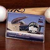 MLB Minnesota Twins Target Field Inaugural Season Silver Coin Card