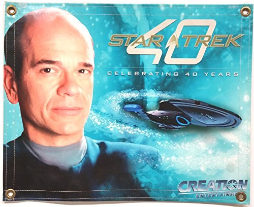 Star Trek Banners (Star Trek Voyager 20 x 16 inches Vinyl Banner of the Doctor, Robert Picardo & ship)