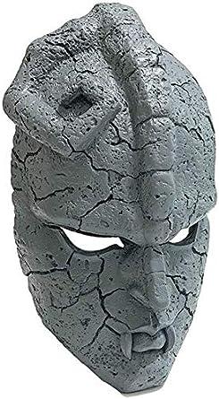 BTXX Halloween Cosplay del Partito terrore JoJo Bizzarre Avventure Mask TV Anime Maschera di Pietra JoJo Masquerade Resina di Pietra Fantasma Maschera Crafts Decorazione