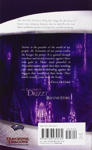 Homeland-The-Dark-Elf-Trilogy-Part-1-Forgotten-Realms-The-Legend-of-Drizzt-Book-I-Bk-1