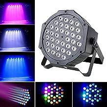 36w Red Green Blue LED Flat Par Light for Party Bar Club Wedding Disco DJ Stage