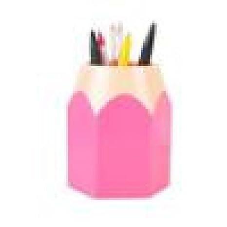 Amazon.com: Liping lápiz forma titular de la pluma papelería ...
