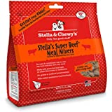 Stella & Chewy's Freeze-Dried Raw Super Beef Meal Mixers for Dogs, 3.5 oz.