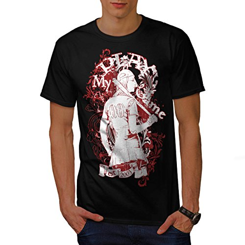 Play Game Baseball Fun Sexy Girl Men NEW L T-shirt | Wellcoda