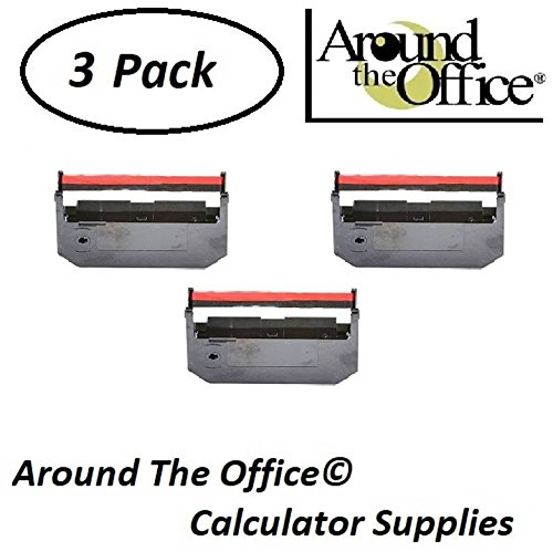 Around The Office Compatible Package of 3 Individually Sealed Ribbons Replacement for Victor 1530-A Calculator