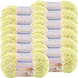 Bernat Lime Pipsqueak Yarn 12/Pk 12 Pack (Color: Lime, Tamaño: 12/Pk)
