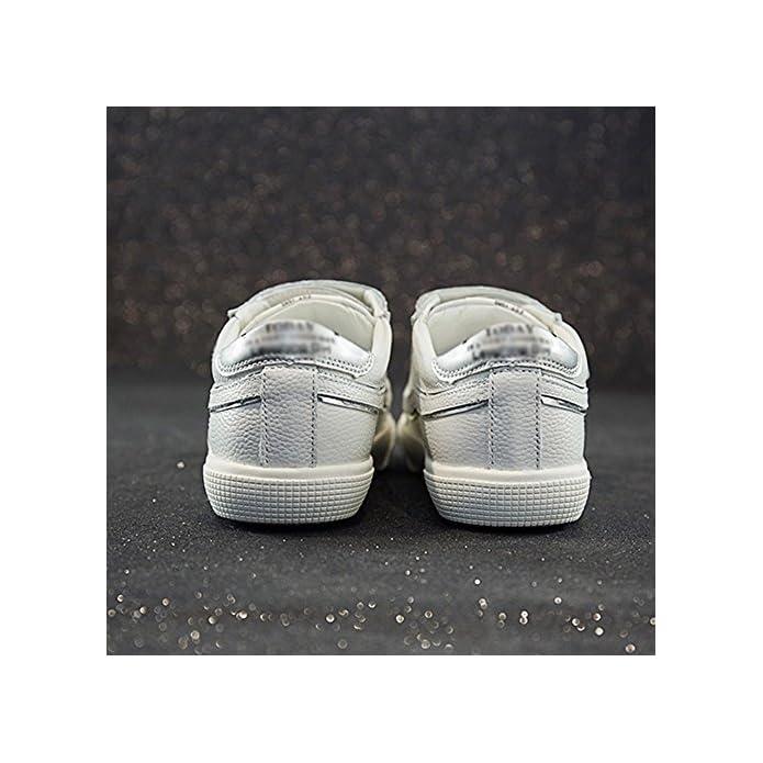 Women's Shoes Scarpa Da Donna Nan 2018 nbsp;estate Fondo Piatto Velcro Pu Antiscivolo E Resistente All' Usura Taglia 35 nbsp;– nbsp;40 nbsp;bianco Scarpe Casual White Eu39 uk6 5 cn40