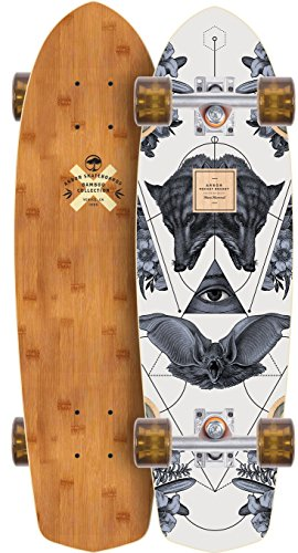 Arbor Pocket Rocket 2017 Bamboo Complete Mini Longboard Skateboard New (Pocket Arbor Rocket Longboard)