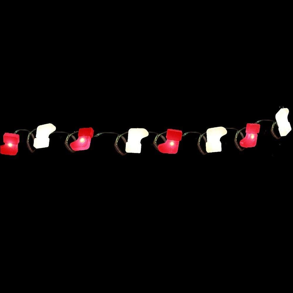Martha Stewart Living 8 ft 24 LEDs Ultra Slim Wire Warm White Large Dot String Light Battery Operated