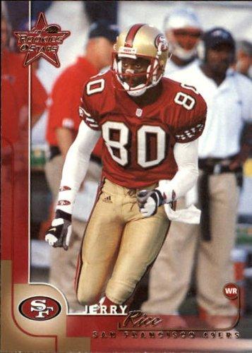 2000 Leaf Rookies and Stars Football Card #73 Jerry Rice Near Mint/Mint (Rice Near Mint)