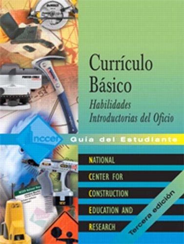 Curriculo Basico:  Habilidades Introductorias del Oficio, Guia del Estudiante (Tercera edicion) (Spanish Edition)
