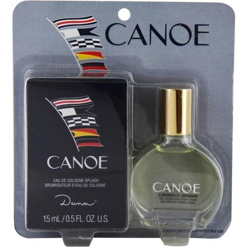 CANOE Cologne Splash, .5 oz Travel Size with Box by Dana ()
