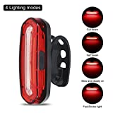 ProGreen Ultra Bright LED Bike Tail Light, USB Rechargeable Bicycle Rear Light, IPX6