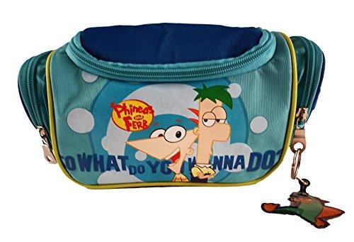 Ferb Cm Licencia Color Neceser Azul Phineas Oficial And Disney Infantil 25x15x10 TSqTtn16O