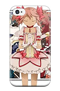 mahou shoujo madoka magica Anime Pop Culture Hard Plastic iPhone 4/4s cases HUJRAD44Z5GSCW3M
