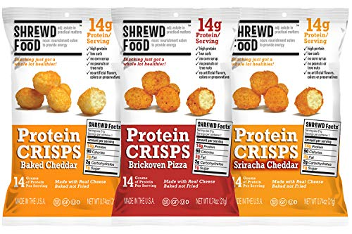 Shrewd Foods Protein Bites Variety Fun Pack by Variety Fun (9 Count)