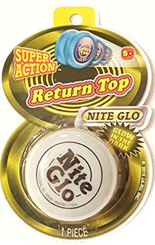 Yo Yo Super Action Return Top Nite Glo ~ Glows In The Dark